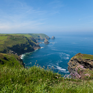 South West Coast Path, Boscastle