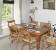 Melbourne Cottage, dining area