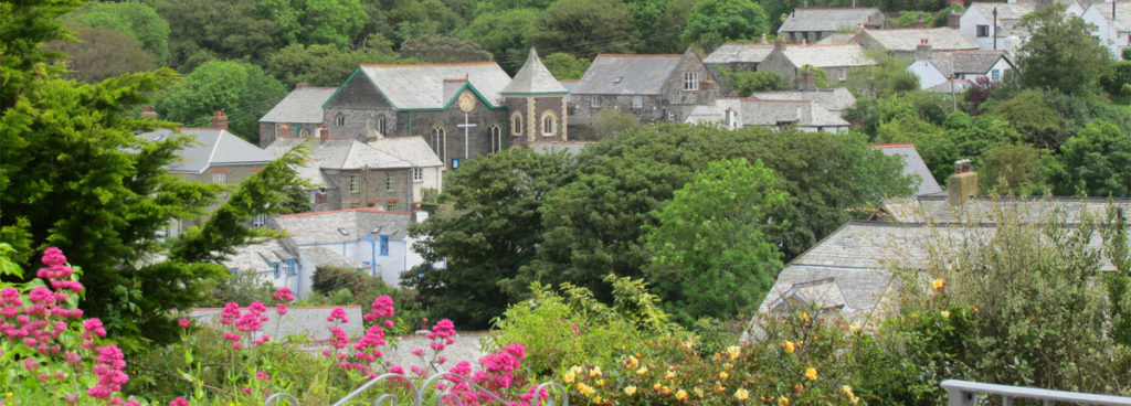 View of Boscastle from Melbourne Cottage, leave a review